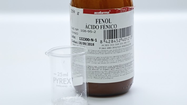 Emulsión de fenol y mentol