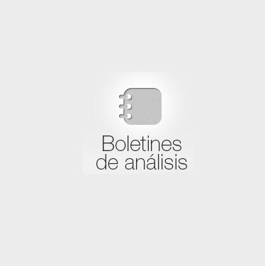 Boletines de análisis